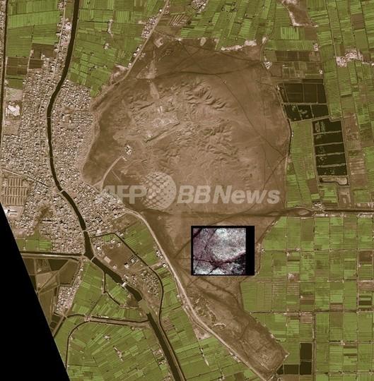 NASA衛星画像から古代エジプトのピラミッド17基見つかる