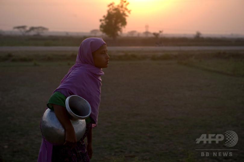 ロヒンギャ難民の最初の1家族5人、ミャンマーに帰還