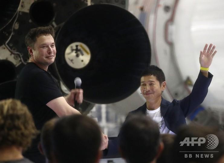スペースXの月旅行、初の乗客に「ゾゾ」前澤氏 アーティストを同乗に招待へ