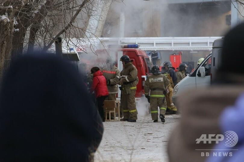 ロシアの住居ビル爆発事故、死者14人に