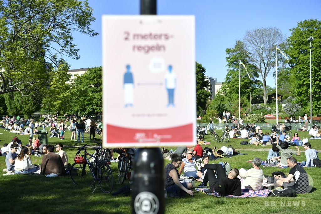 スウェーデン、自国のコロナ対策「改善の余地ある」と認める