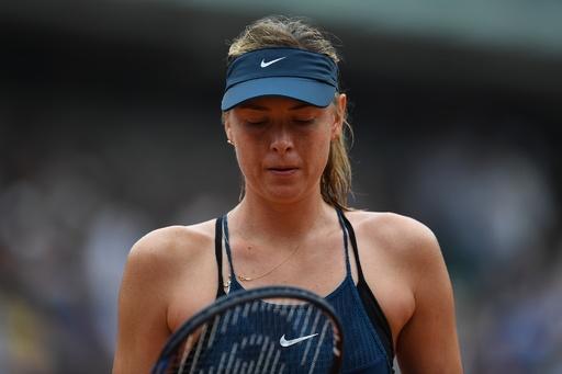 シャラポワが全仏OP欠場、肩の故障で 2度の大会女王