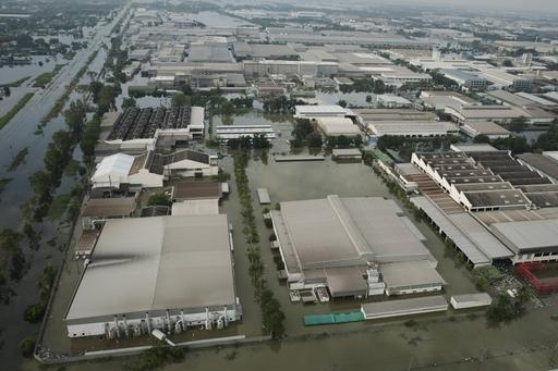 タイ洪水でHDD供給に混乱