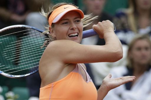 シャラポワが準々決勝進出、全仏オープン