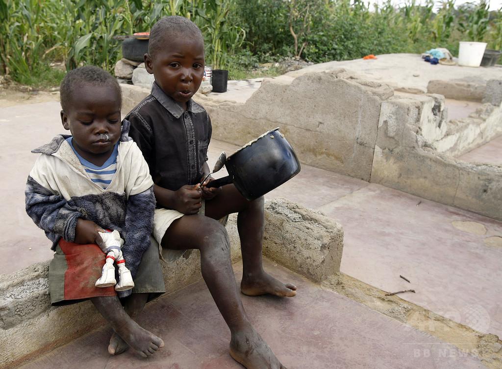 アフリカ南部、1400万人に飢餓の危機 国連が警鐘