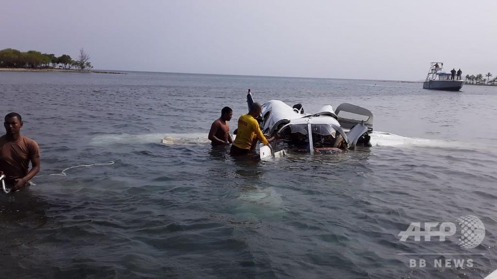 中米ホンジュラス、ロアタン島沖に小型機墜落 5人全員死亡