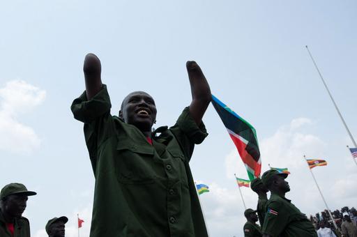 南スーダン共和国が独立、新首都で式典