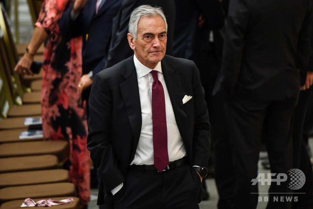 伊連盟会長、5月下旬のセリエA再開に期待 中止提案者を批判