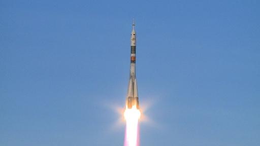 動画:ロシア宇宙船「ソユーズ」、事故後初の打ち上げに成功