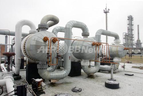 露ガスプロム、ウクライナにガス供給削減を警告