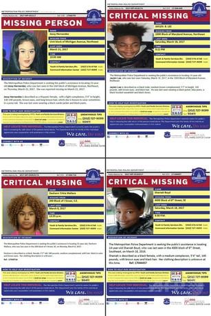 米首都で「消えた」黒人の少女たち ネットで虚偽情報拡散