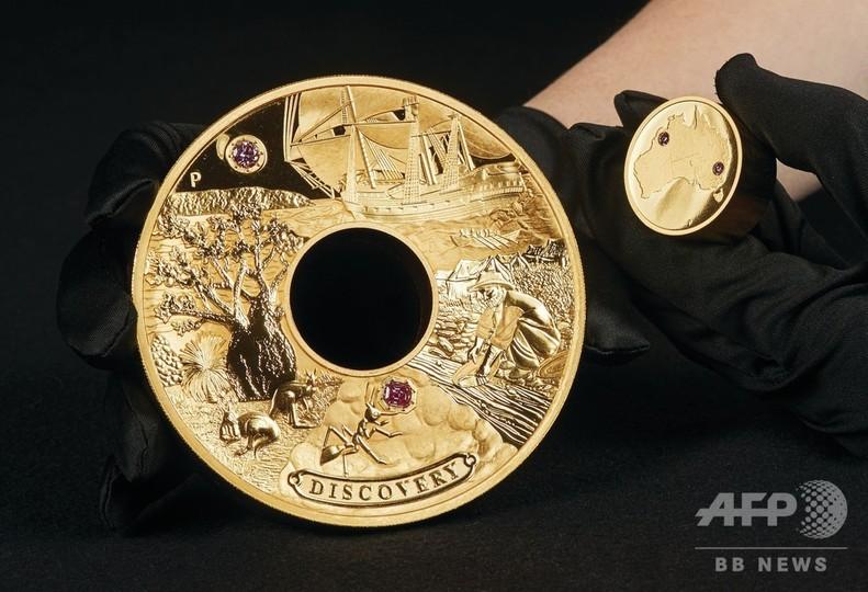 オーストラリア史上最高値の金貨を鋳造、2億円相当