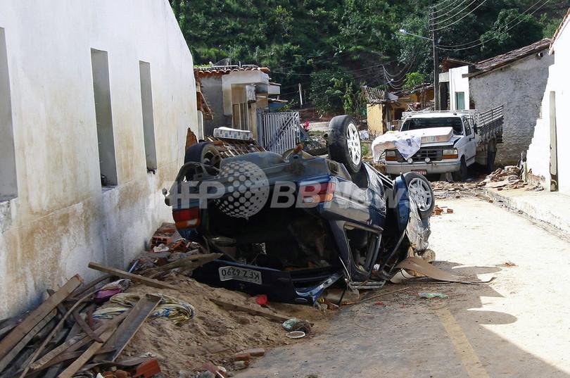 ブラジル北東部で洪水、1000人以上が行方不明