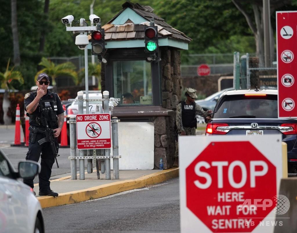 米ハワイの米軍基地で海軍兵士が発砲、2人死亡