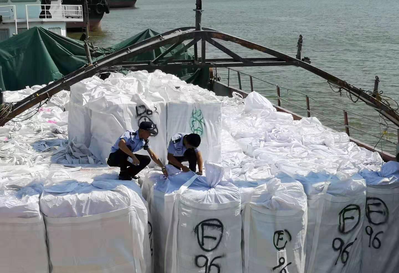 密輸冷凍肉700トン強押収 中国・黄浦税関