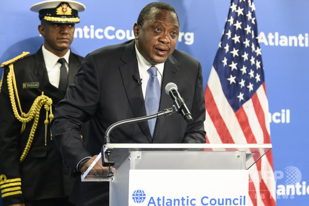 大国の競争でアフリカ「再冷戦化」の恐れ、ケニア大統領が警告