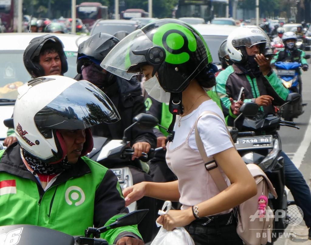 マスク1.2万枚の密輸試み、2人を一時拘束 買いだめ取り締まるインドネシア