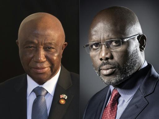 リベリア大統領選、元サッカー選手と現副大統領が決選投票へ