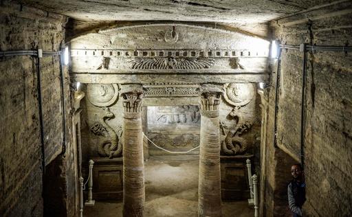 2000年前のカタコンベ、海面上昇から保護する工事完了 エジプト