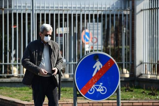 新型ウイルス流行地域への出入りを禁止、感染者79人に急増 イタリア