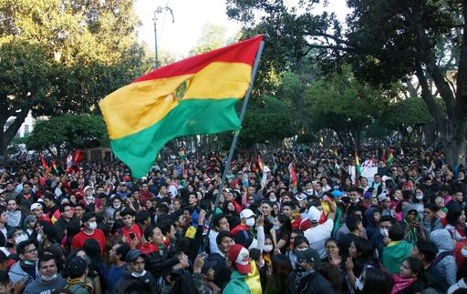 ボリビア大統領選、 「現職と選挙当局が結託」と野党側 ゼネスト呼び掛け