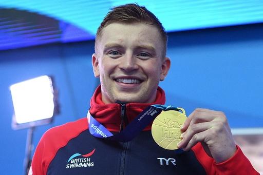 ピーティが100平で3連覇、ドレッセルは大会2冠目 世界水泳