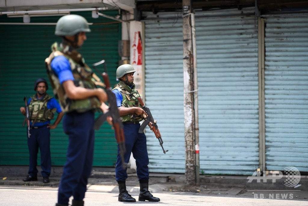 スリランカ連続爆発の死者、約100人減の253人に訂正