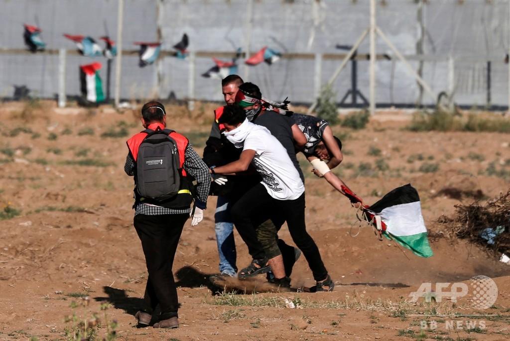 ガザでパレスチナ人4人死亡、イスラエル軍が兵士2人負傷の報復攻撃