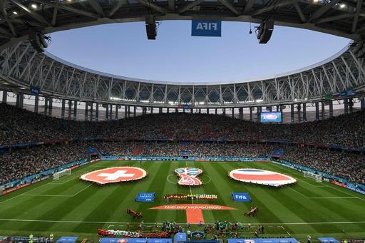 【写真特集】ロシアW杯グループE、スイス対コスタリカ