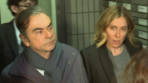 動画:「何も知らなかった」ゴーン被告の妻、逃亡劇への関与を否定