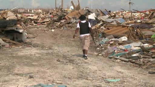 動画:ハリケーン被災のバハマ、依然として1300人が行方不明者