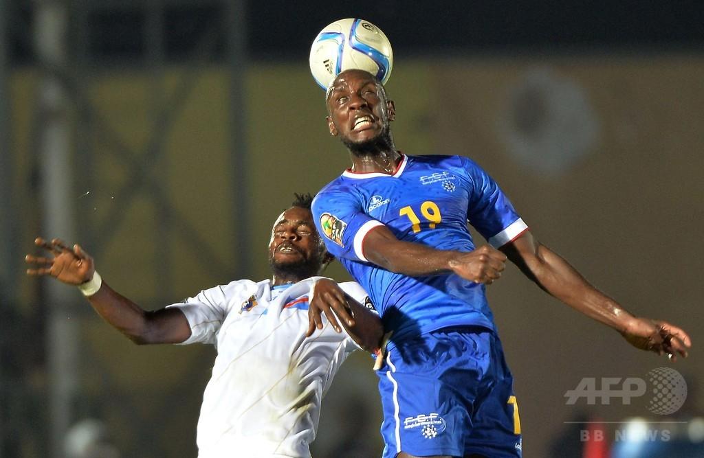 カボベルデとコンゴ民主共和国はドロー、アフリカネイションズカップ