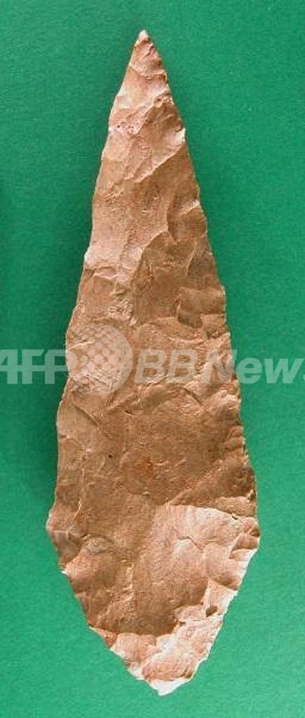 高度な石器作り、起源は欧州ではなく7万年前のアフリカ