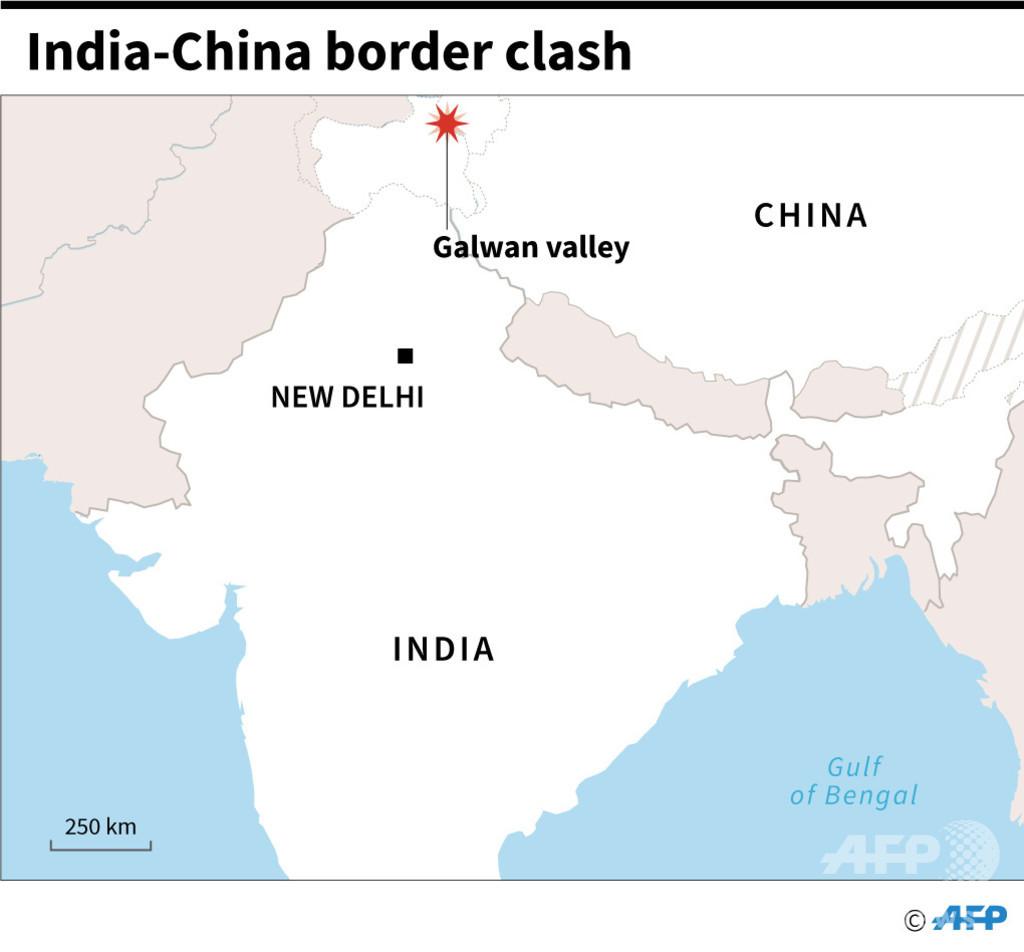 中印が係争地で衝突 インド兵20人死亡