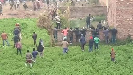 動画:インドの街中にヒョウ出没、住民襲われパニックに