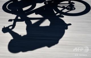 90歳が自転車レースでドーピング違反、世界記録剥奪