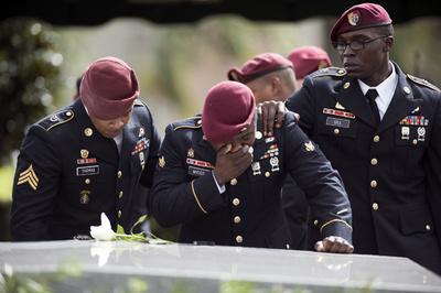 米陸軍、ニジェールでの待ち伏せ攻撃で6人を懲戒処分