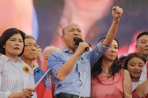 台湾総統選、野党が親中派候補を擁立 鴻海・郭氏は落選