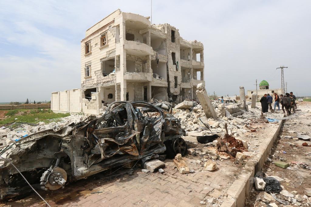 シリアで新たな化学兵器攻撃疑惑、ISが使用との情報も