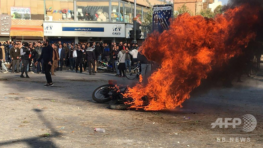イラン、死刑執行を差し止め 反政府デモ関与の3人に