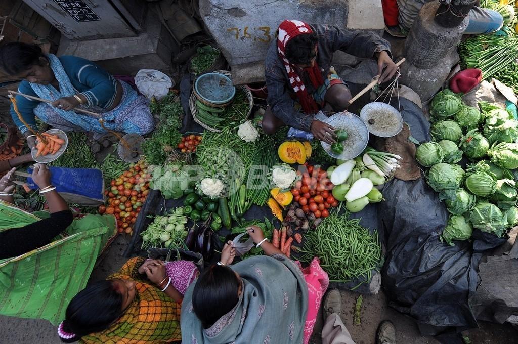 1月の世界の食料価格、過去最高に
