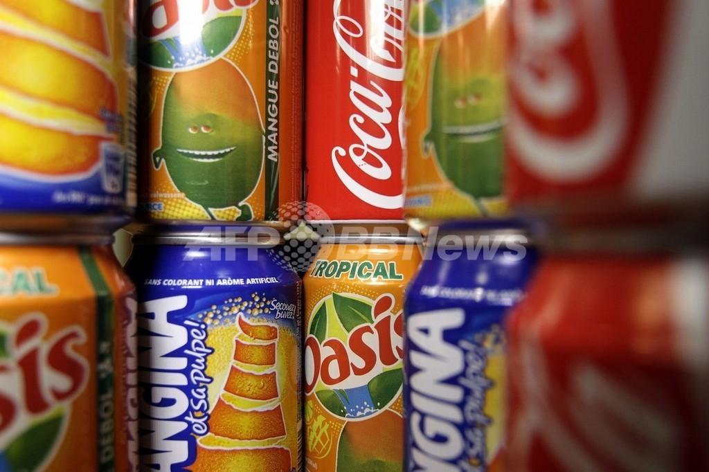 仏憲法会議、ソーダ税を承認 肥満防止と税収拡大狙う