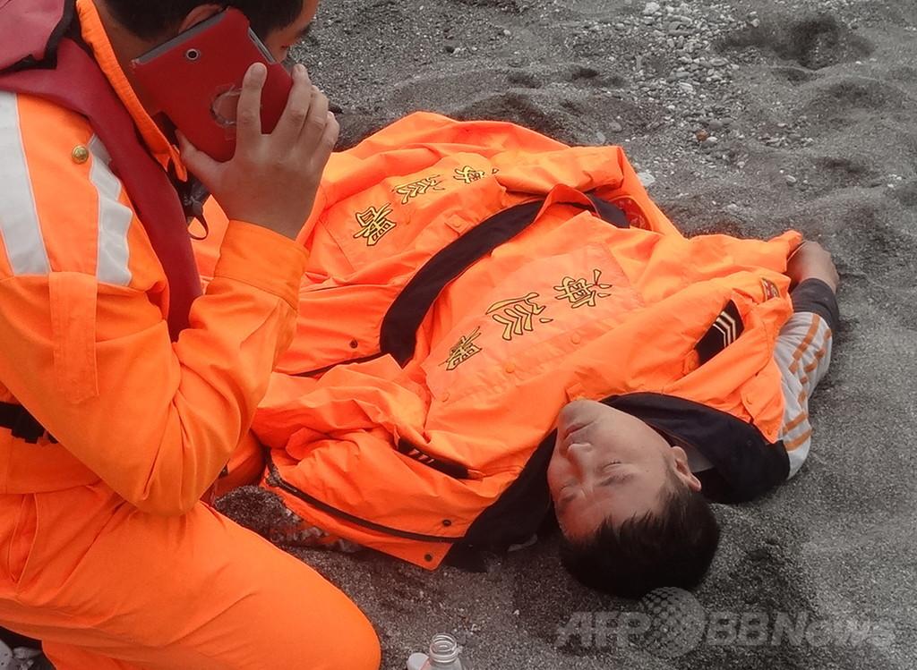 泳げない台湾男性、海を漂流 60時間後に救出
