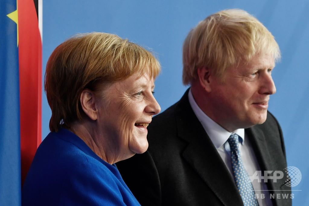 ブレグジット合意「30日」で実現も 英首相にメルケル氏