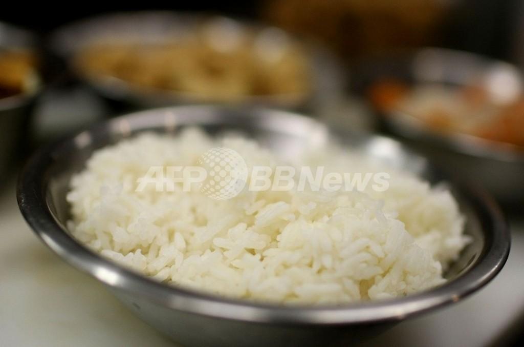 白米は糖尿病リスクを上げる、米研究
