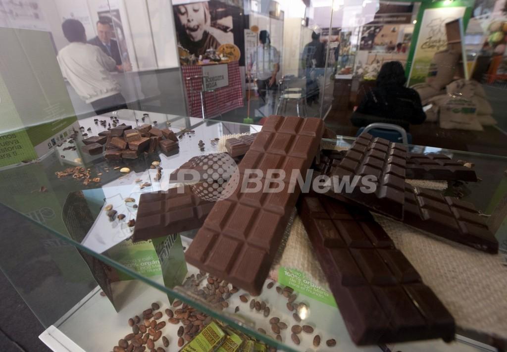 チョコレート消費量とノーベル賞受賞数に「相関関係」、米研究