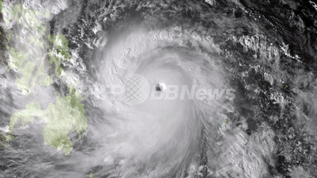 史上最大規模の台風30号、フィピリンに上陸 3人死亡