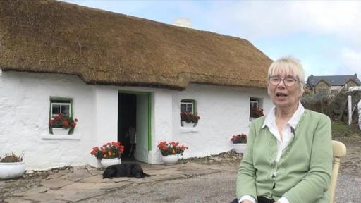 動画:電気も水道もなし 北アイルランドの田舎で暮らす高齢女性、潮流の最先端に?