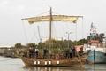 2500年前に沈んだ商船のレプリカ、いざ航海 イスラエル