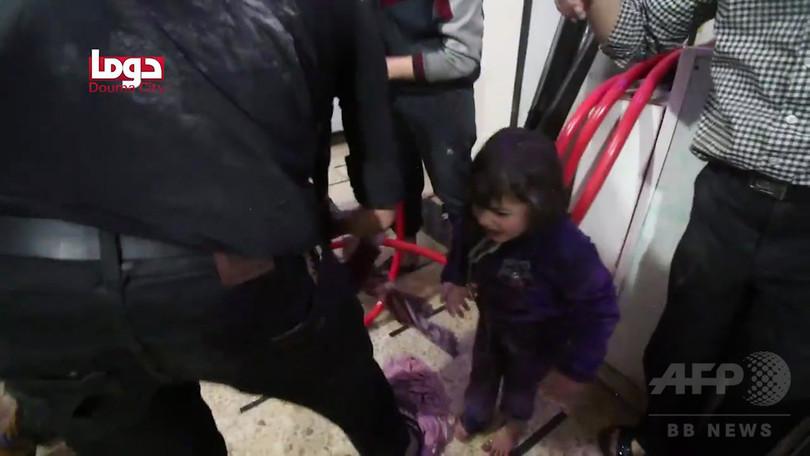 シリア化学兵器、政権使用の「証拠ある」 米国務省